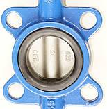 Затвор поворотный Баттерфляй VITECH Ду40 Ру16  диск нержавеющая сталь, фото 5