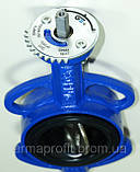 Задвижка поворотная Баттерфляй GENEBRE тип 2103 Ду50 Ру16 диск чугун оцинк. , фото 5