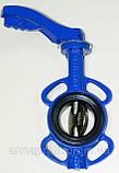 Задвижка поворотная Баттерфляй GENEBRE тип 2103 Ду65 Ру16 диск чугун оцинк. , фото 2