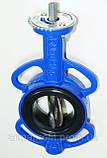 Задвижка поворотная Баттерфляй GENEBRE тип 2103 Ду80 Ру16 диск чугун оцинк. , фото 5
