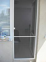 Москитная сетка на петлях дверная белая