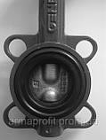 Задвижка поворотная Баттерфляй GENEBRE тип 2103 Ду200 Ру16 диск чугун оцинк. , фото 8