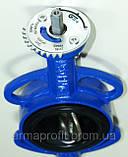 Задвижка поворотная Баттерфляй GENEBRE тип 2103 Ду200 Ру16 диск чугун оцинк. , фото 5
