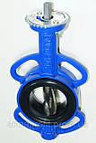 Задвижка поворотная Баттерфляй GENEBRE тип 2103 Ду125 Ру16 диск чугун оцинк. , фото 6