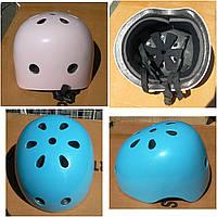 Шлем Uni Защитный Новый, размер M/L 54-58см, усиленный пластик, для роллеров и агрессивных видов спорта