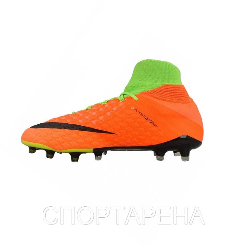 06d866c6 Профессиональные футбольные бутсы Nike Hypervenom Phantom 3 DF FG  860643-308, ...