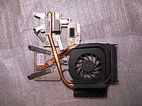 Система охлаждения кулер радиатор ноутбука HP dv6-1120er