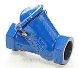 Клапан обратный канализационный чугунный муфтовый арт. BCV-16M (C302) Ду80 Ру16, фото 3