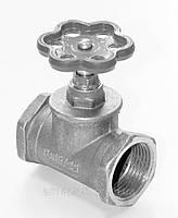 Вентиль запорный латунный 15б1п муфтовый для пара tmax 225°C Ду15 Ру16