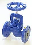 Вентиль запорный чугунный фланцевый арт. 215 A ZETKAMA Ду100 Ру16, фото 2