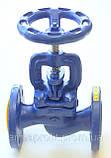Вентиль запорный чугунный фланцевый арт. 215 A ZETKAMA Ду100 Ру16, фото 3