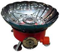 Газовая печка с лепестками большая