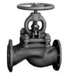Клапан запорный чугунный 15ч14п фланцевый (Украина) Ду100 Ру16
