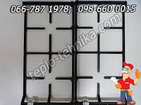Решетка чугунная для плиты 60 см шириной Грета, Дружковка, Норд