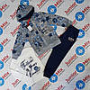 Трикотажный спортивный костюм для девочки  в розы  B&Q KIDS