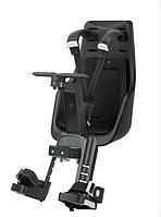 Переднее велокресло Bobike Exclusive mini (черный городской)