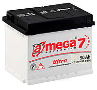 Аккумулятор Автомобильный  Амега 50 А (A-Mega Ultra 6СТ-50-Аз 480 А)