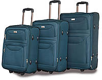 Набор дорожных чемоданов на колёсах Ormi 6802 (Италия-КНР)