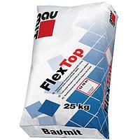 Baumit FlexTop эластичный клей для плитки и керамогранита 25 кг