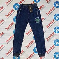 Катоновые підліткові штани для хлопчика на манжеті B. B. W