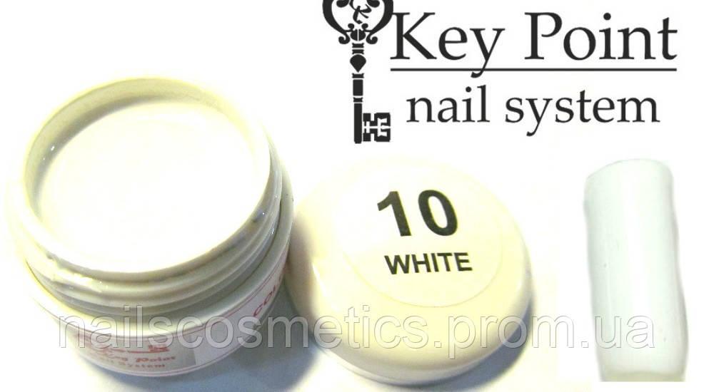 №10 White гель-краска