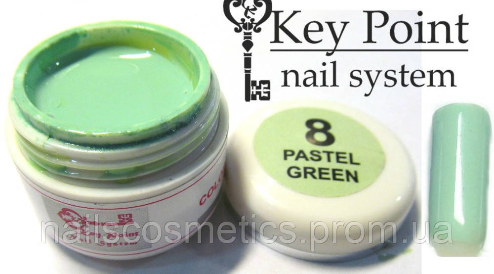 №08 Pastel green гель-краска