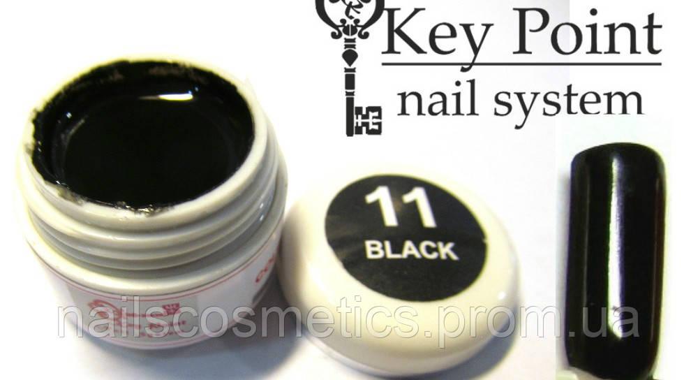 №11 Black гель-краска