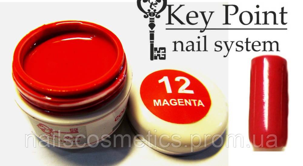 №12 Magenta гель-краска