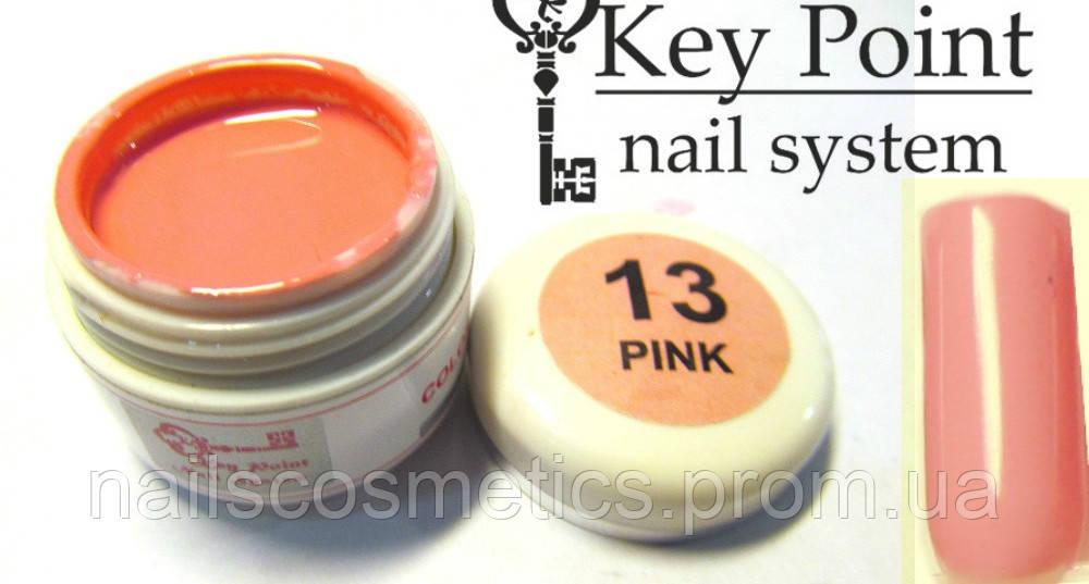 №13 Pink гель-краска