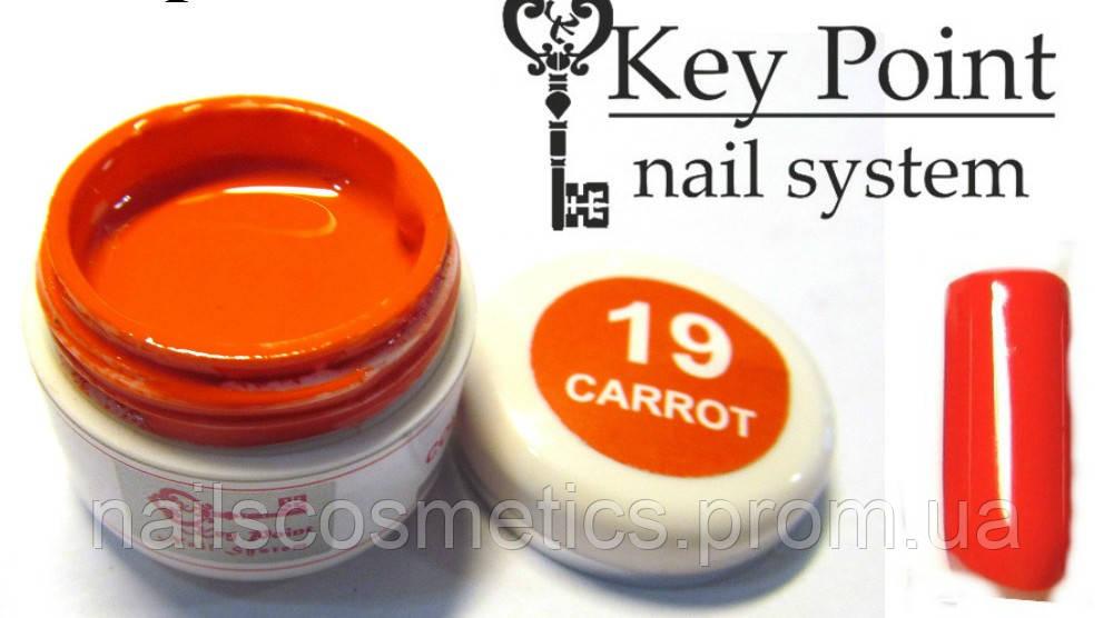 №19 Carrot гель-краска