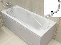 Ванна акриловая KOLLER POOL DELFI 180x80 + сифон, Австрия
