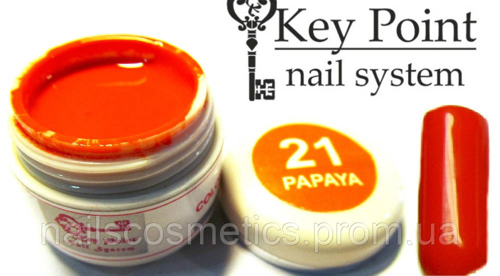 №21 Papaya гель-краска