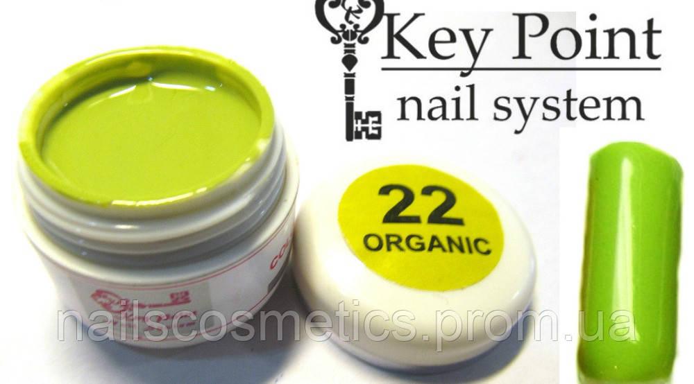 №22 Organic гель-краска
