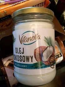 Кокосовое масло VITANELLA 500 гр