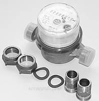 Счетчик воды одноструйный муфтовый Apator Powogaz тип JS-1,5 ХВ Ду15 Ру16