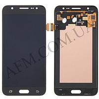 Дисплей (LCD) Samsung GH97- 17670C J700H Galaxy J7 с сенсором черный сервисный