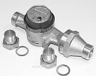 Счетчик воды одноструйный муфтовый Apator Powogaz тип JS-130-10 ГВ Ду40 Ру16, фото 1
