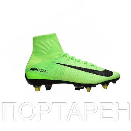 Профессиональные футбольные бутсы Nike Mercurial Superfly V SG Pro AC  889286-303, фото 2 514e2f2bca5