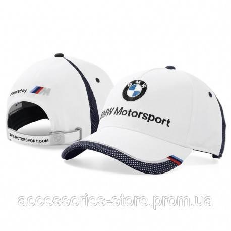 Бейсболка BMW Motorsport Collectors Cap, Unisex, White