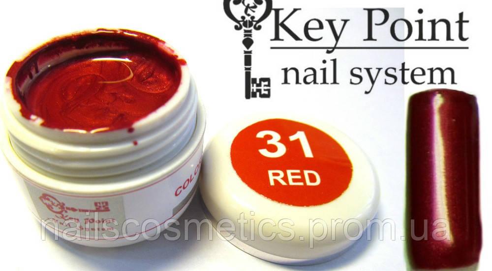 №31 Red гель-краска