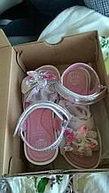 Босоножки кожаные для девочки, Итальянские, Lelli Kelly модель fiore