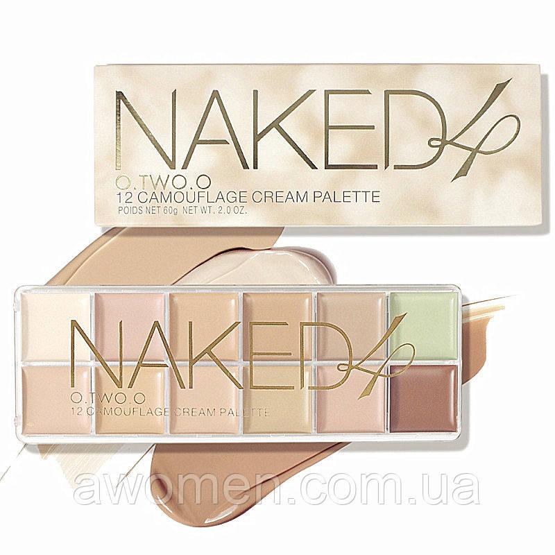 Коректор для обличчя Naked 4 (12 кольорів)