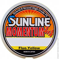 Рыболовные Лески И Шнуры Sunline Momentum 4x4 150м 0.208мм 20Lb/8.8кг, желтый (16584403)