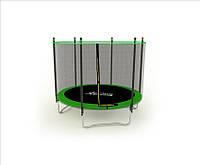 Батут спортивный для детей Active Hobby диаметром 183см (6ft) с внешней сеткой
