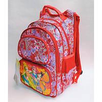 Рюкзак школьный ( спиннер в подарок) для девочки Sh671-673-1