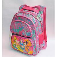 Рюкзак школьный ( спиннер в подарок) для девочки Sh671-673