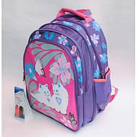 Рюкзак школьный ( спиннер в подарок) для девочки Sh671-678