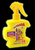 Клевое молочко для безопасного загара для детей SPF30