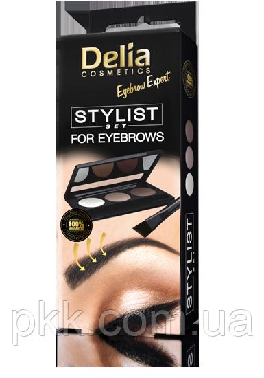 Набор для коррекции бровей Delia Cosmetics Styist