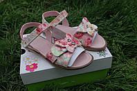 Босоножки  кожаные для девочки,Итальянские,Lelli Kelly модель  farfalla, фото 1